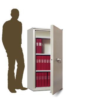 Armoire ignifuge pour la protection de documents papier en cas d'incendie