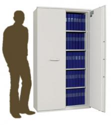 Armoire ignifuge papier haute 2 portes