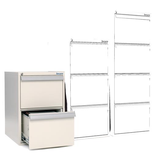 Block tiroir ignifuge 2 tiroirs