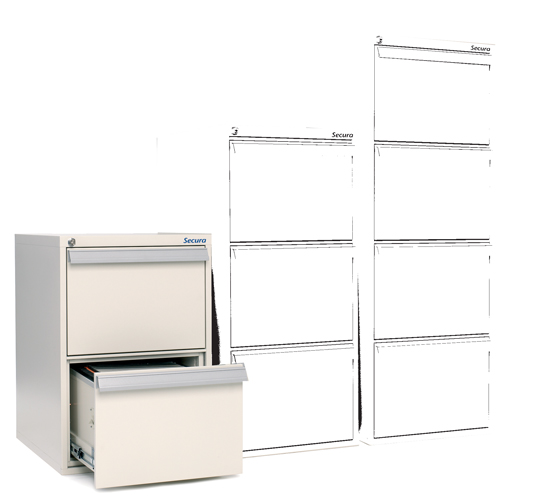 Block tiroir ignifuge 2 tiroirs SV 20