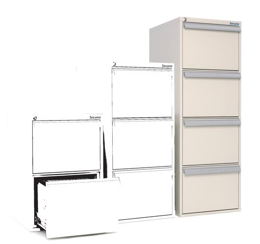 SV 40 armoire à tiroirs ignifuge papier