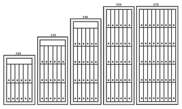 Coffres forts classe 5 antivol et ignifuge papier série E5-300 par KASO
