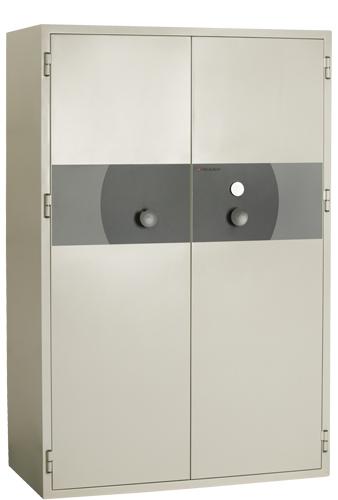 Coffre ignifuge informatique 2 portes.