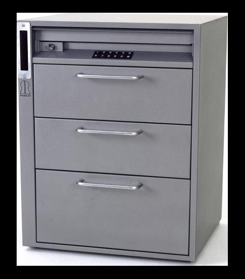 Caisse temporisée 3 tiroirs modèle BSH 2000