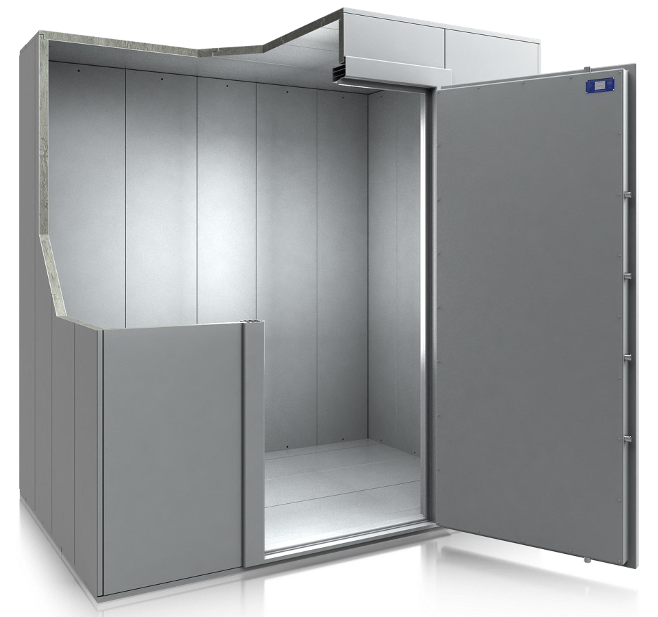 Chambre forte préfabriquée modulaire Classe 1   BJARSTAL