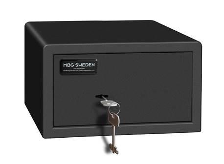 Coffre-fort 9.5 litres à clé. Pour hôtel et particuliers