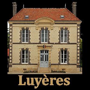Commune de Luyères- utilisent des armoires BJARSTAL pour protéger leur registres d'état-civil.