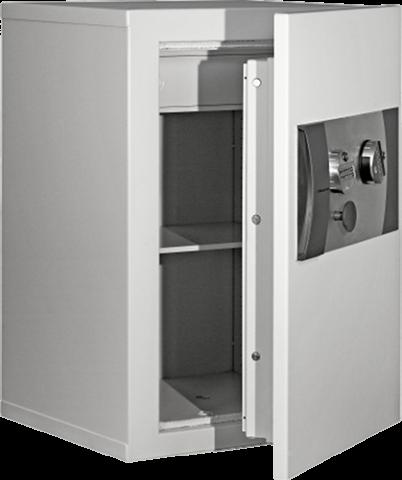 Coffre-fort E5-320 Classe 5, 149 litres, ignifuge papier avec la porte ouverte