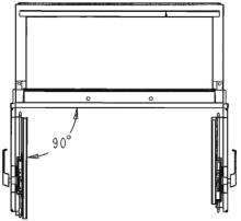 Armoire ignifuge papier SA 390 mouvements portes.