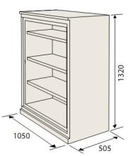 Armoire ignifuge papier SA 390 dimensions.