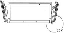 Armoire ignifuge papier SA 580 movement portes
