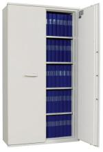 SA 990 armoires ignifuges papier avec porte ouverte.