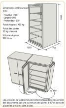 Armoire ignifuge papier SA 990 dimensions.